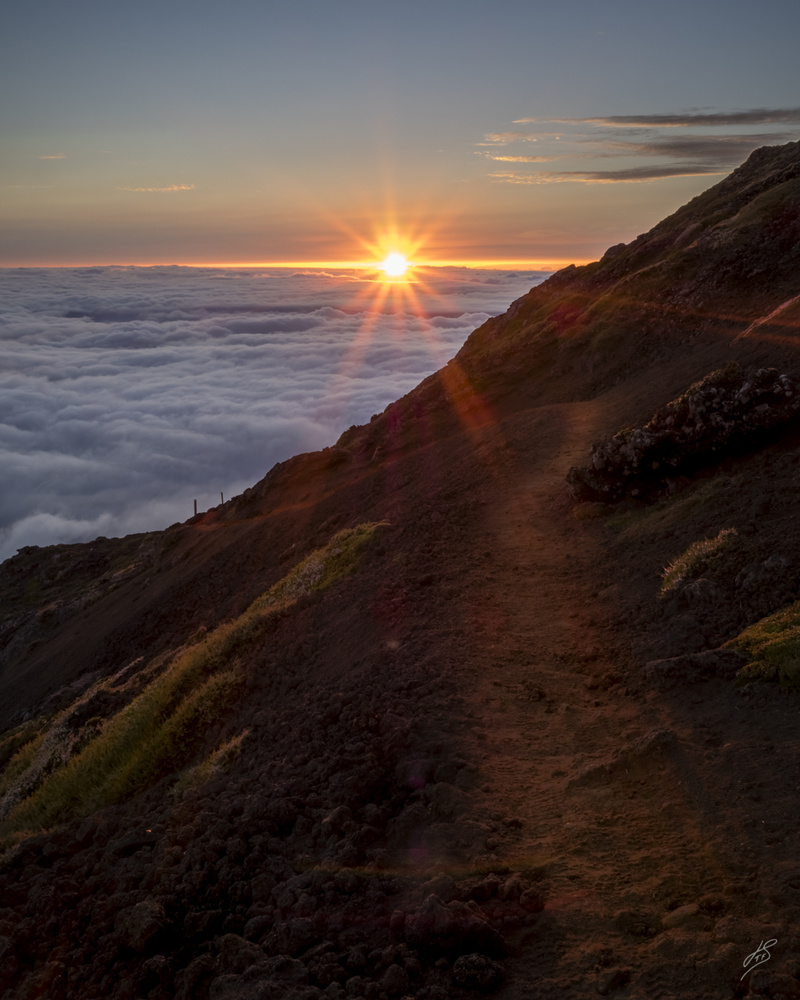 Sunset above the clouds by Joao TFS