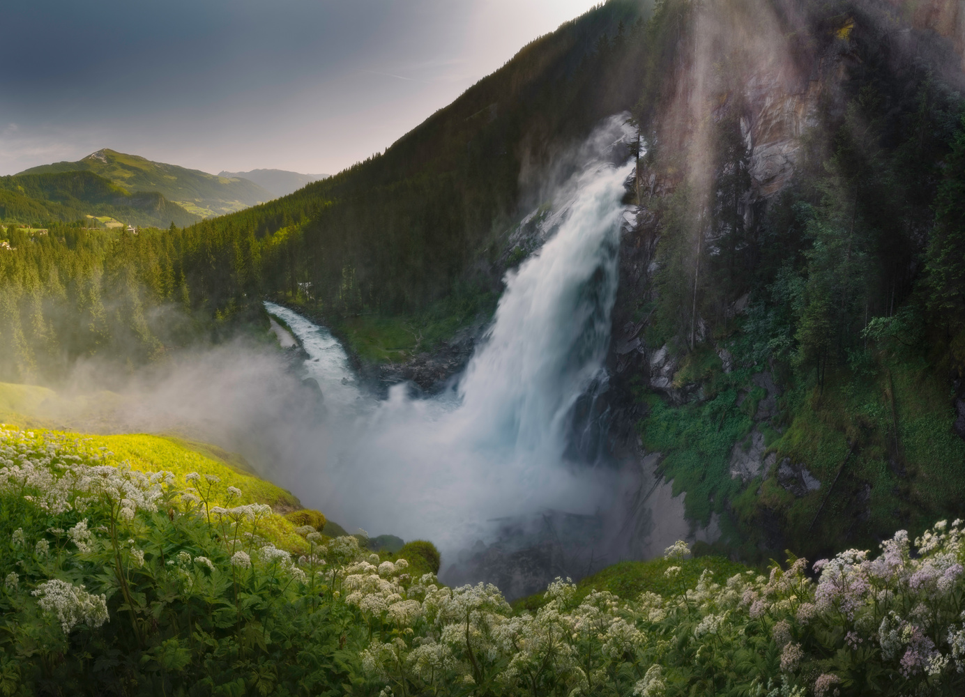 Krimml Waterfall by Corin Vilanek