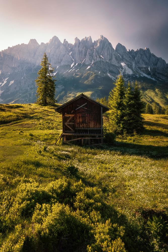 Mountain Hut by Corin Vilanek