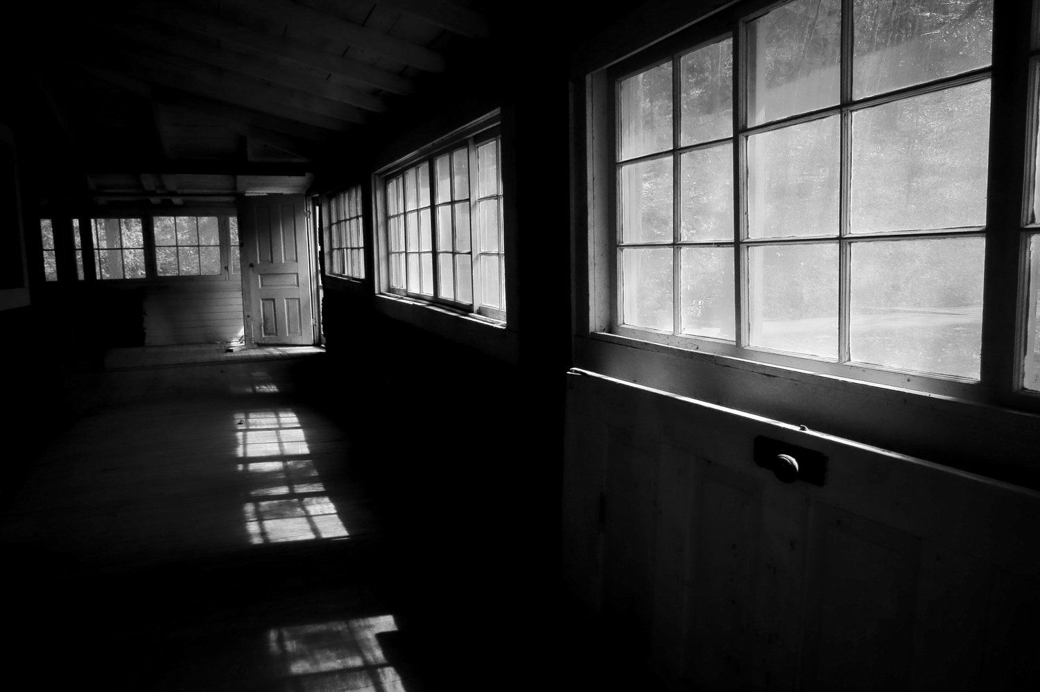 The Long Windowed Room by Ron Welch