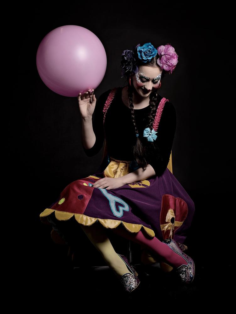 Abby the clown by Saba Hatzimarkos
