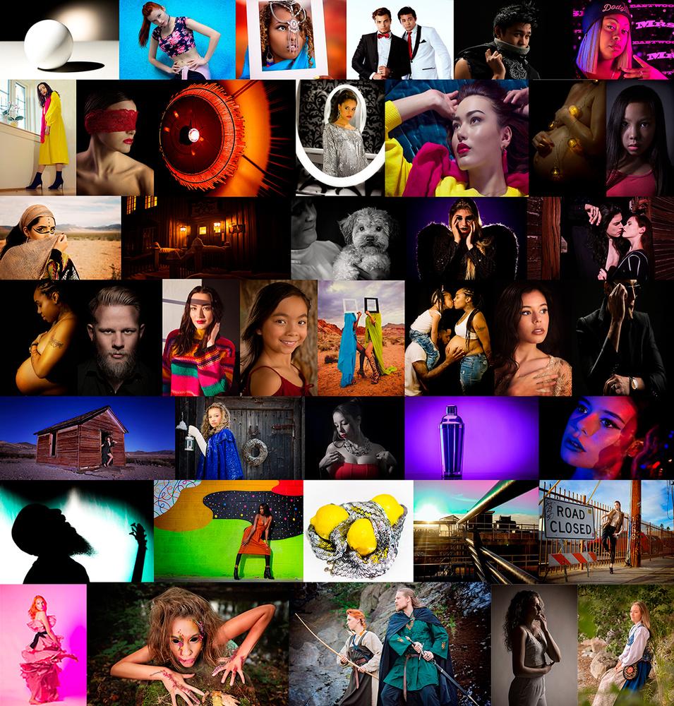 Collage by Saba Hatzimarkos