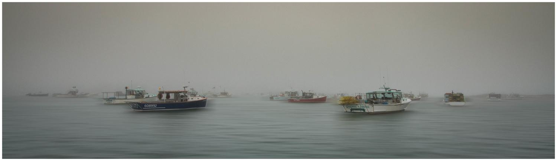 Evening Harbor Fog by Daniel Rowland