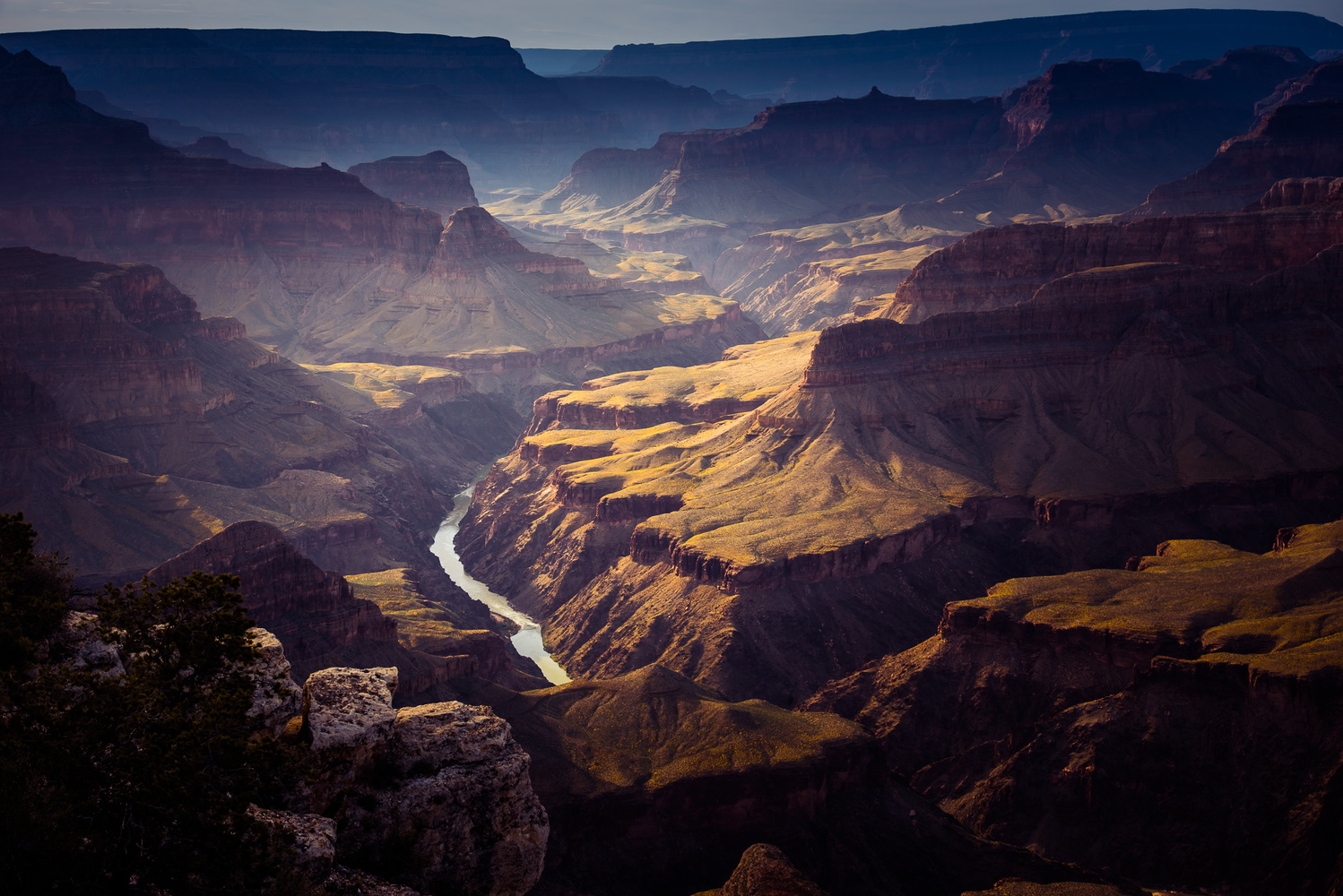 Mohave Point, Grand Canyon by Christian Lorenz