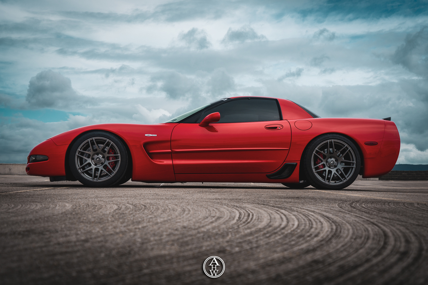 Z06 on the rooftop by Andrew Wiest