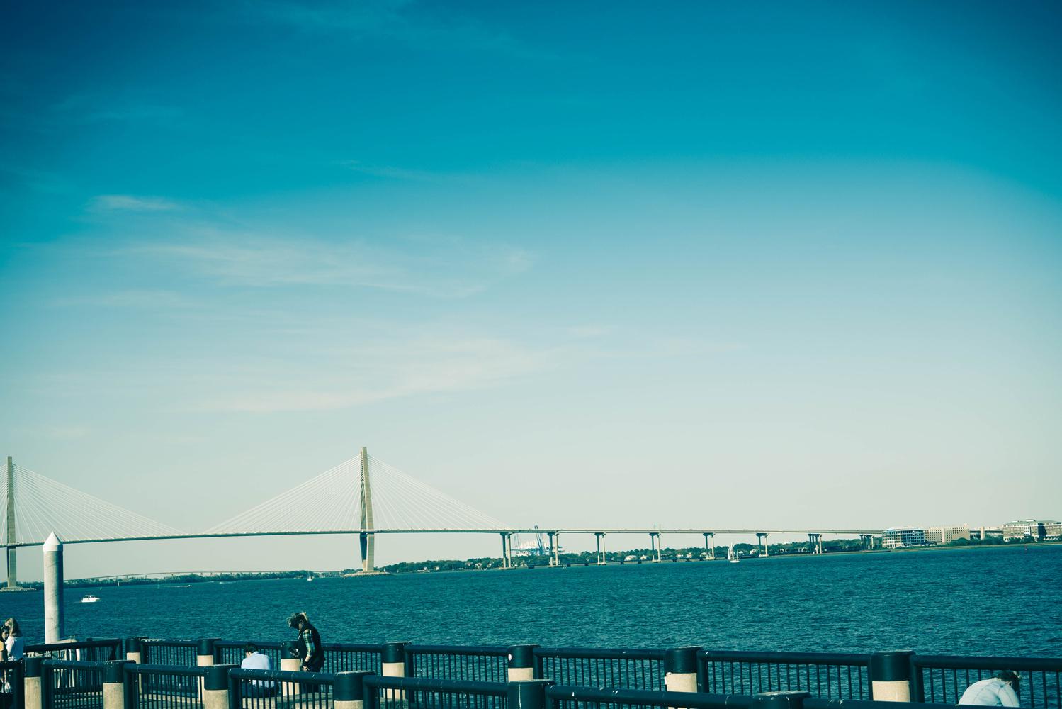 Charleston Harbor by Luis Santana