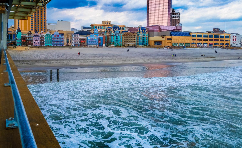 Atlantic City by the Sea by Luis Santana