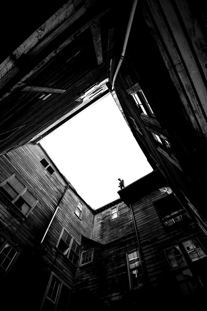 Abandoned by Marshall Hall