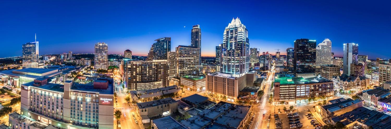 Austin Texas Skyline by Daniel Wishard