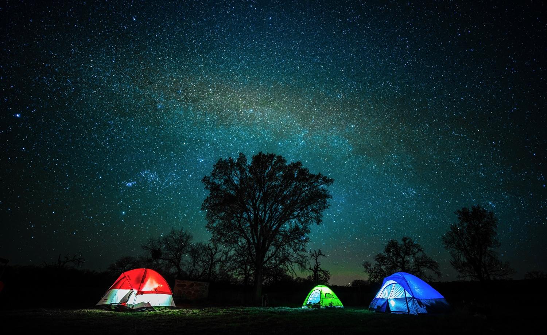 RGB Tents by Daniel Wishard