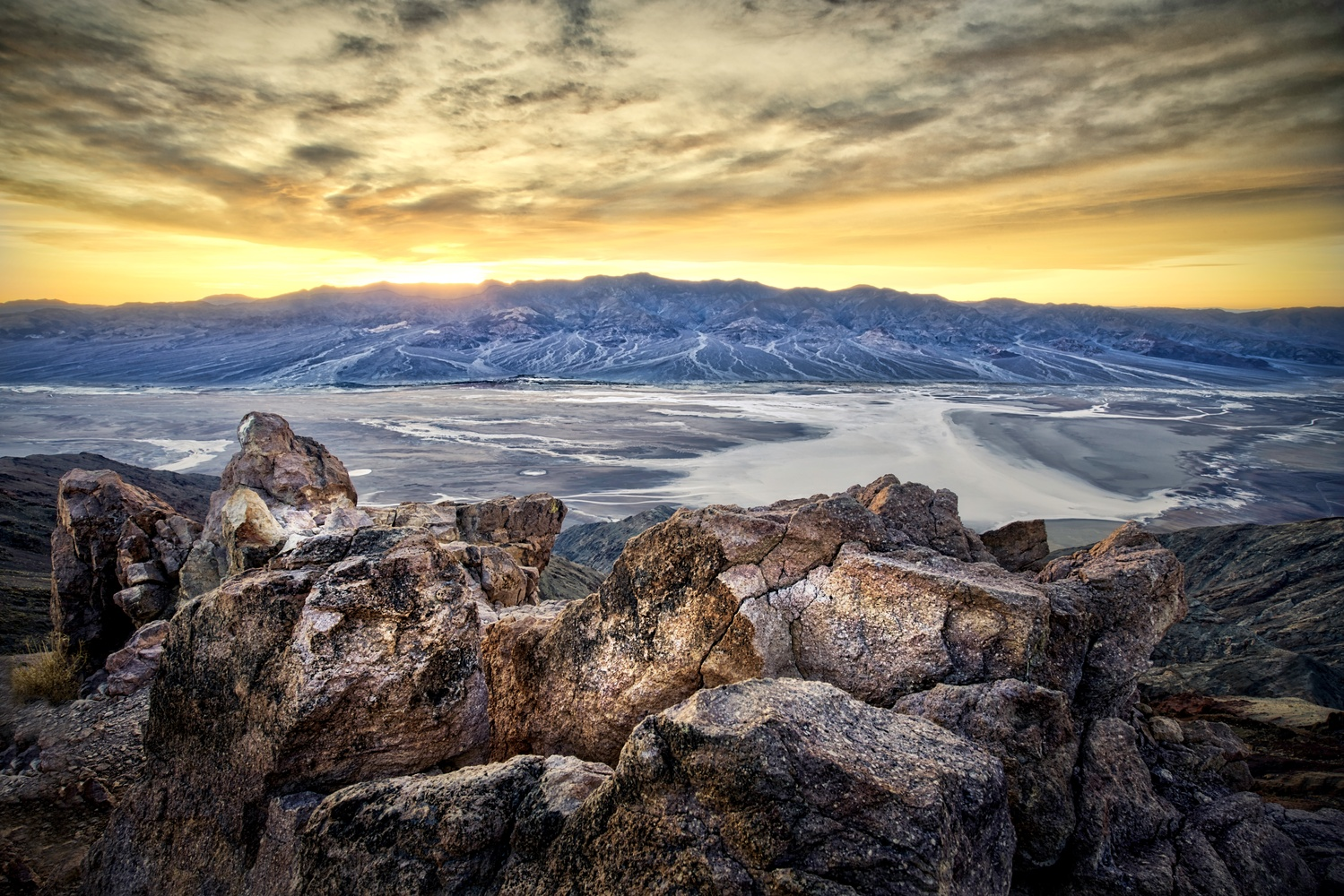 Dante's Peak Death Valley by Daniel Wishard