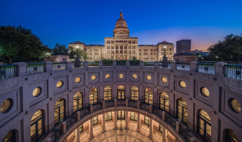 Texas State Capitol Underground by Daniel Wishard