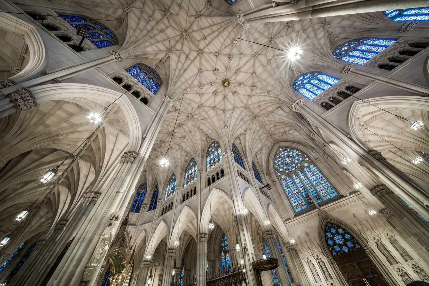 St. Patrick's Cathedral NYC by Daniel Wishard