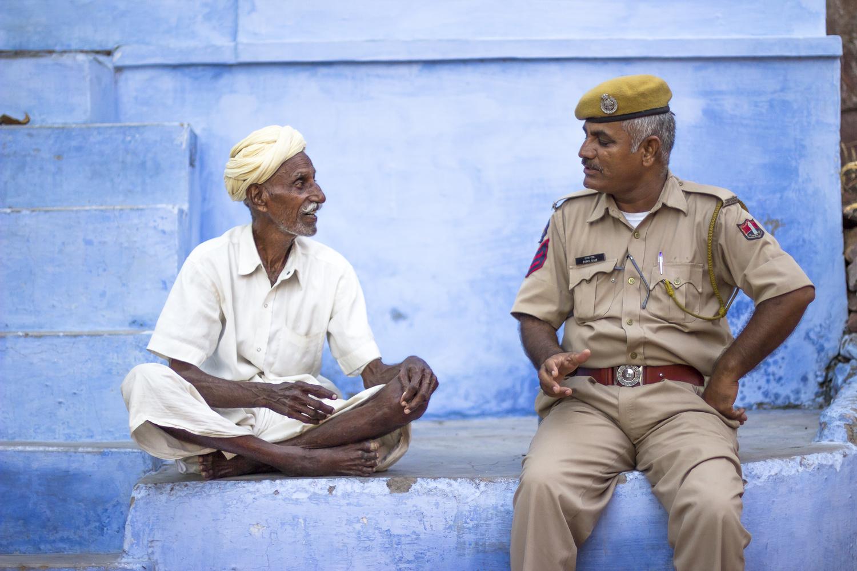 Strangers in Jodhpur by Felix Müller