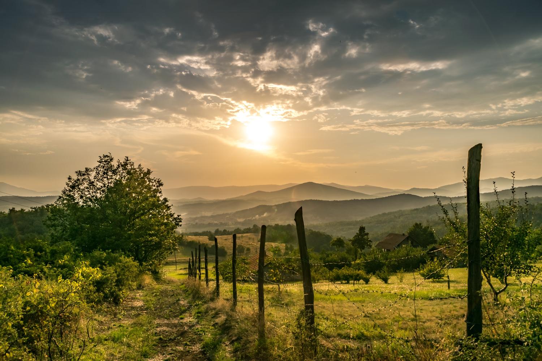 Pastel sunset by Zoran Milutinovic