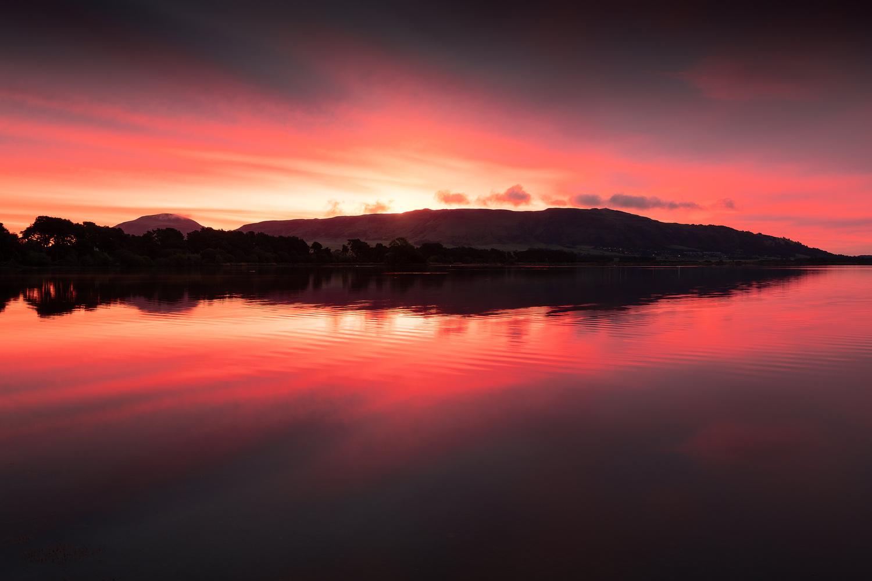 Loch Fire by Richard Bauld