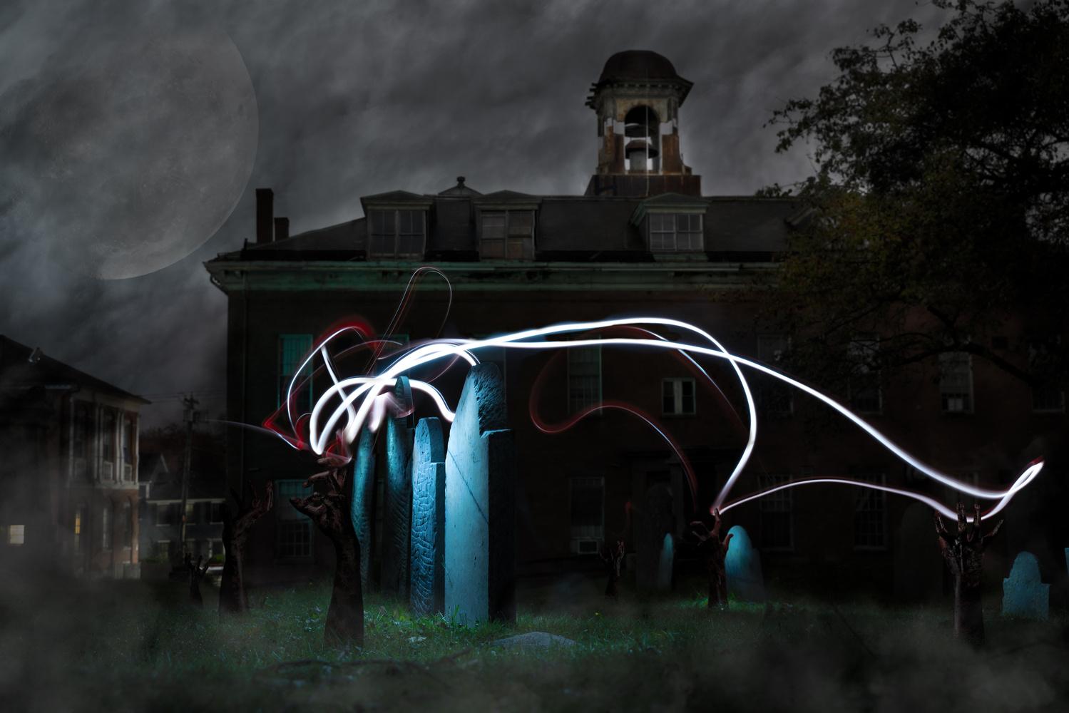 Salem Graveyard by Matthew Mindich