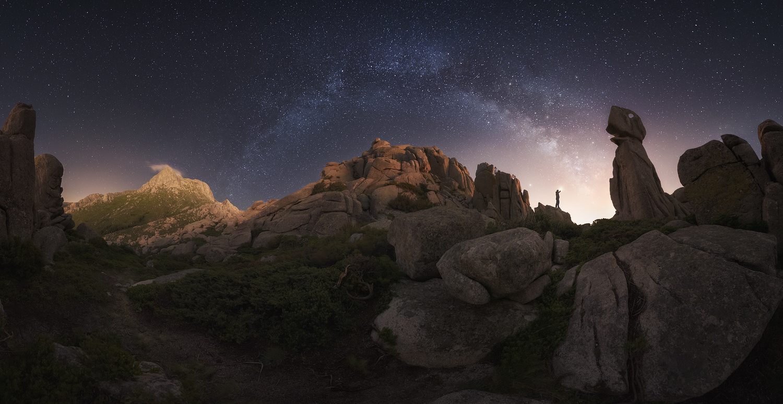 Jurassic night by Luis Cajete