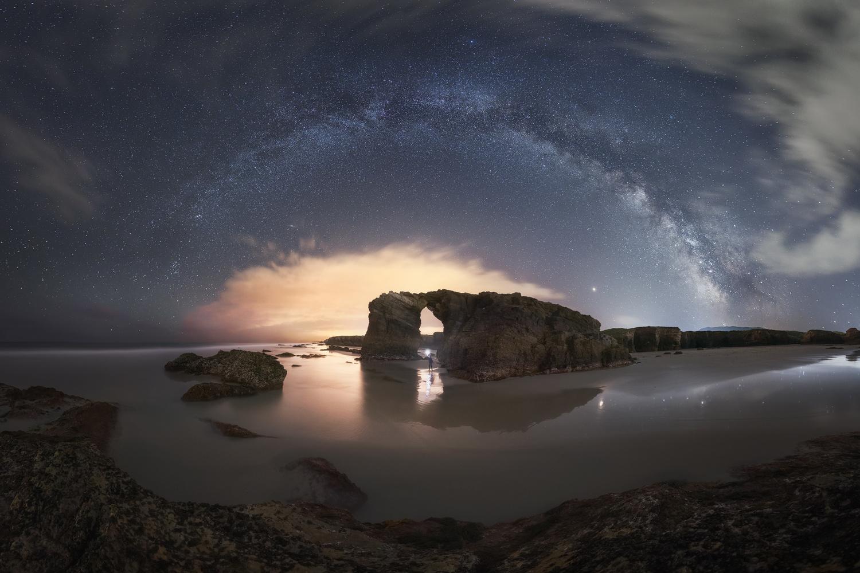 Double arch by Luis Cajete