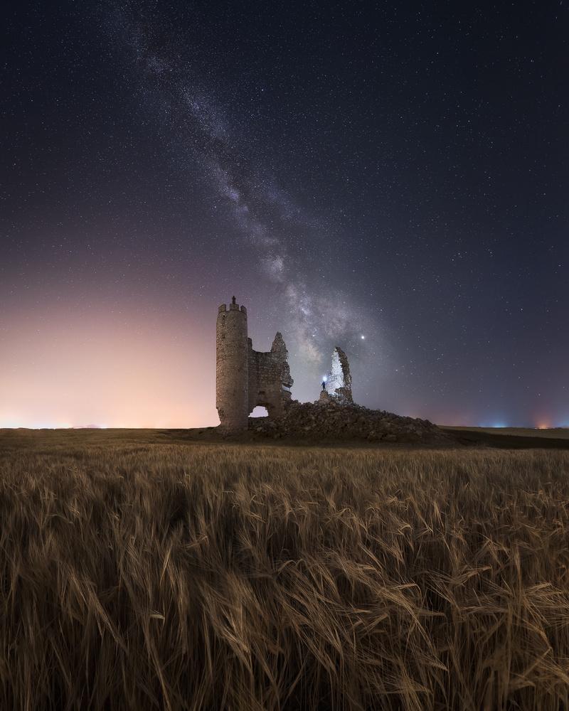 The old castle by Luis Cajete