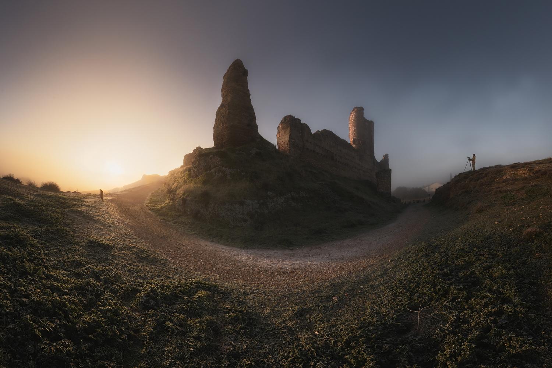 Burning fog by Luis Cajete