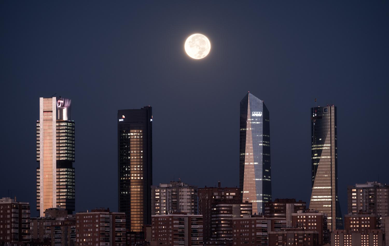 Twilight in my city by Luis Cajete