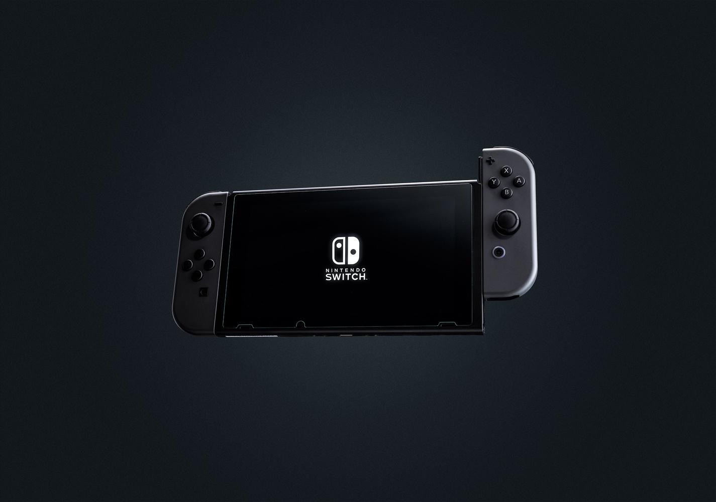 Nintendo Switch Black by Klif Lin