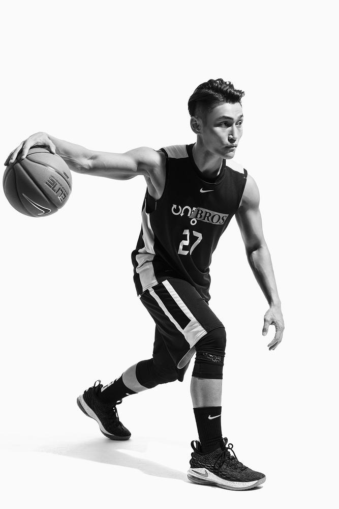 Basketball Player - 2 by Klif Lin