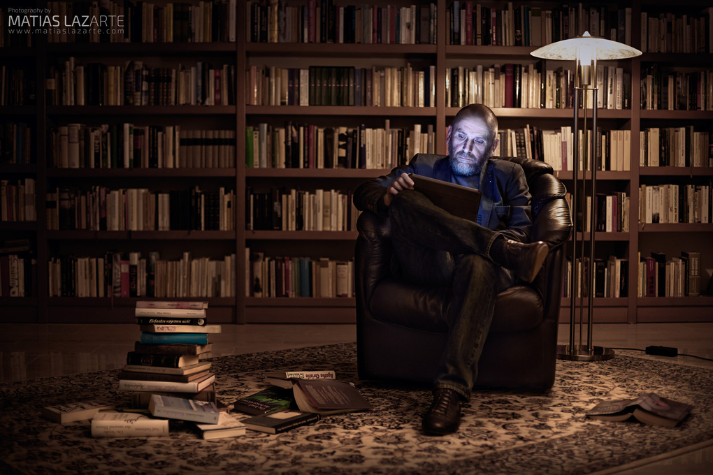 Will books ever be replaced by technology? by MATIAS LAZARTE