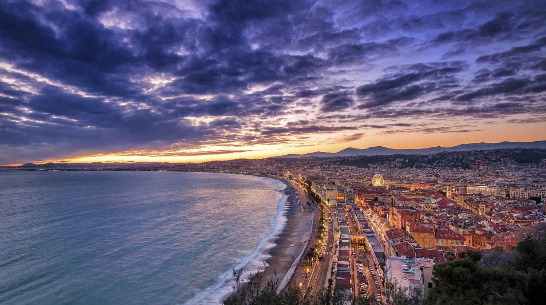 Nice - Sunset by Alex Lud