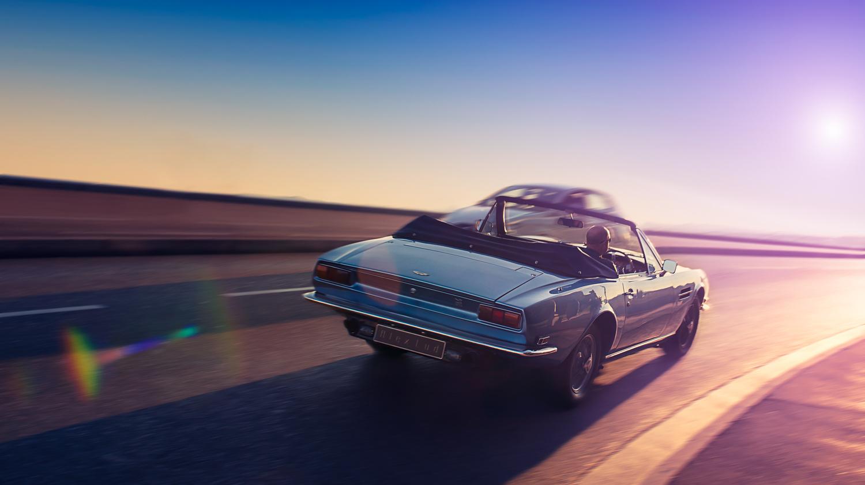 Aston Martin Vantage V8 by Alex Lud