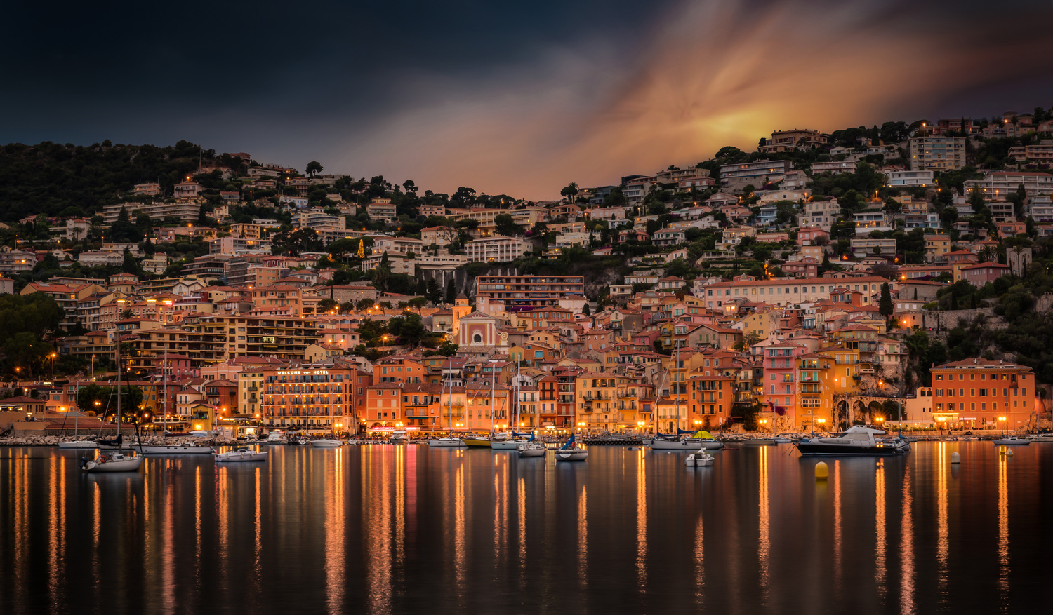 Villefranche - Sunset by Alex Lud