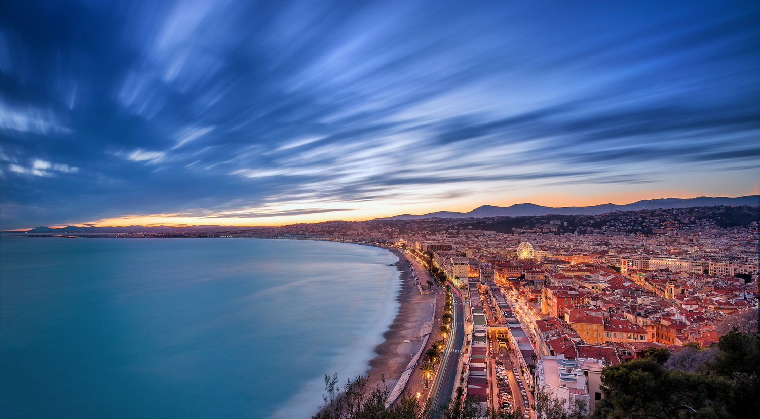 Nice - Long exposure (2) by Alex Lud