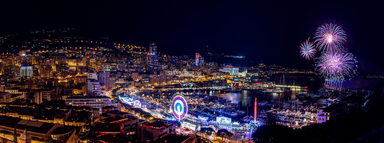 Monaco - Fireworks by Alex Lud