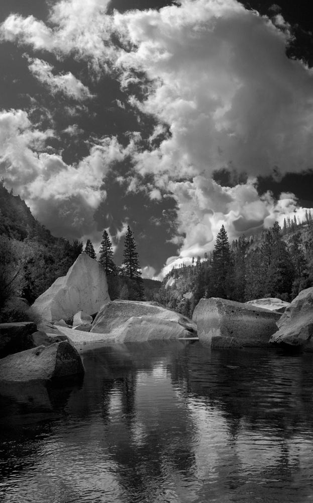 Merced River by Mark Riedy