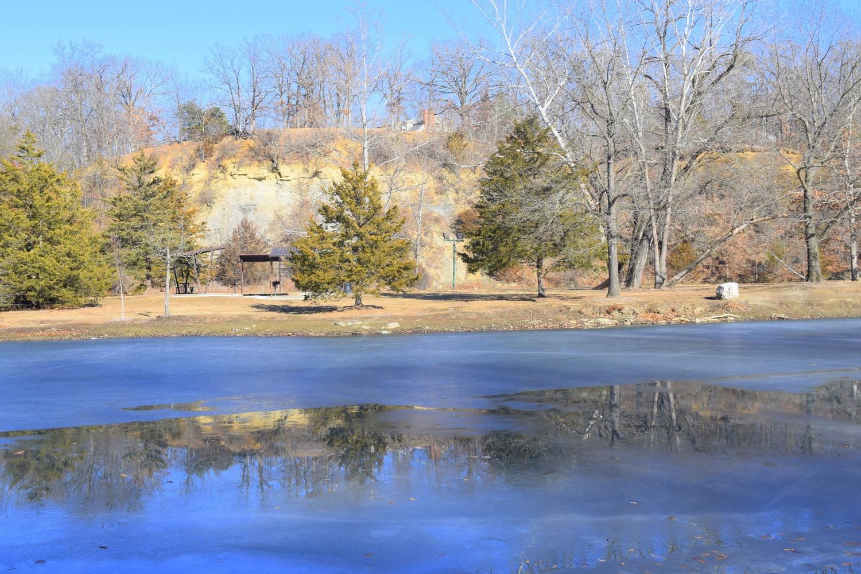 Ice Reflection by Pam Stewart