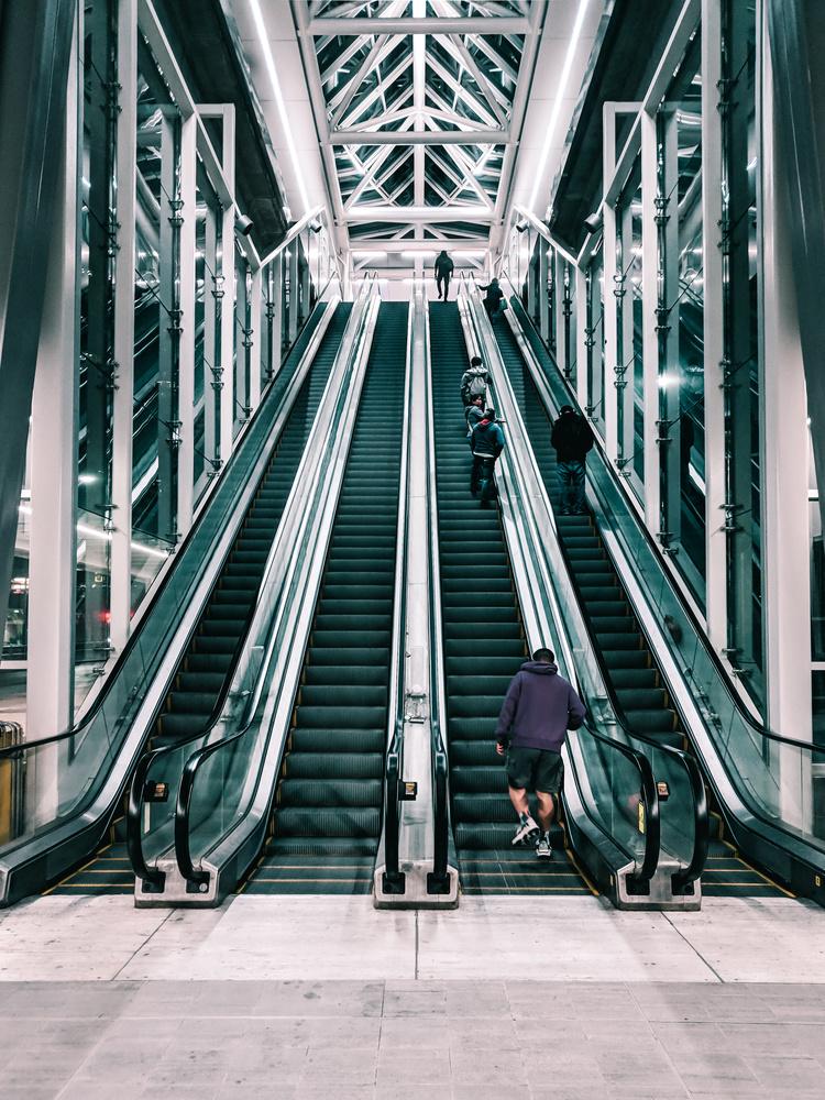 Skytrain Station by Bernardo Lopez