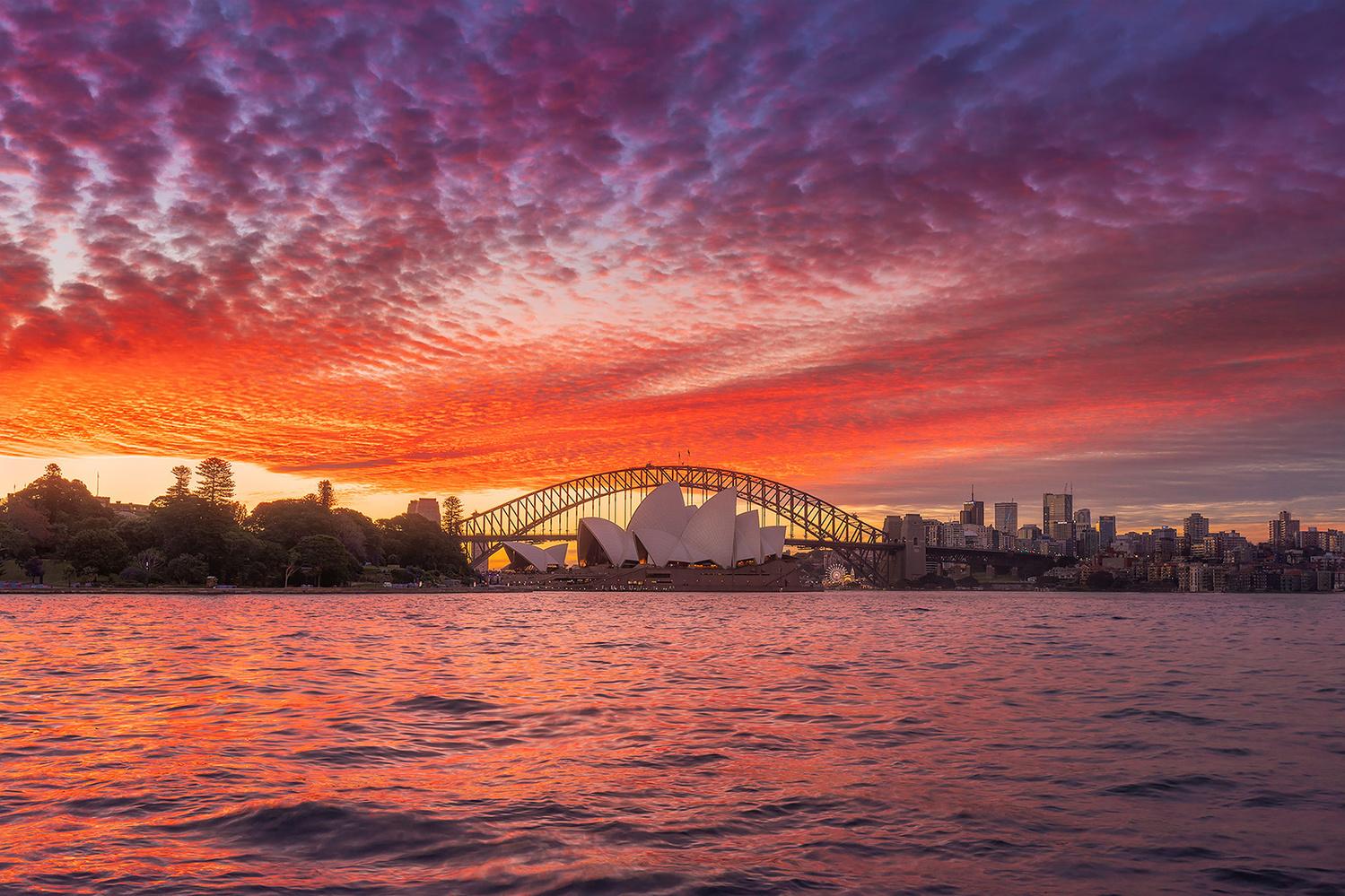 The Sydney Opera House by Anton Galitch