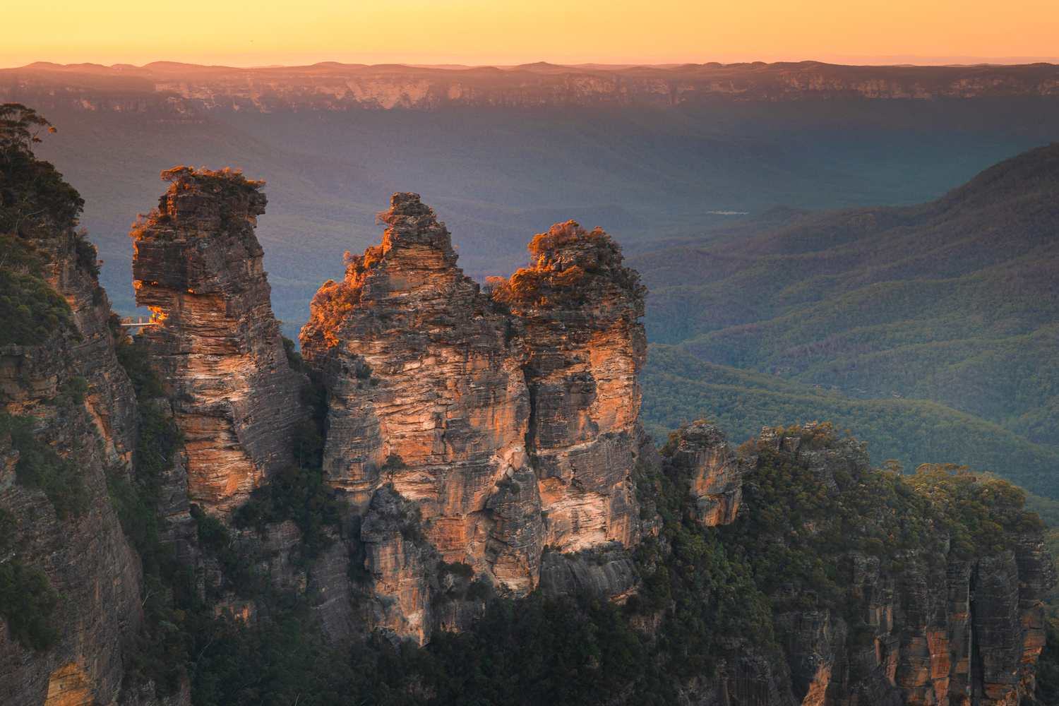 The Three Sisters by Anton Galitch