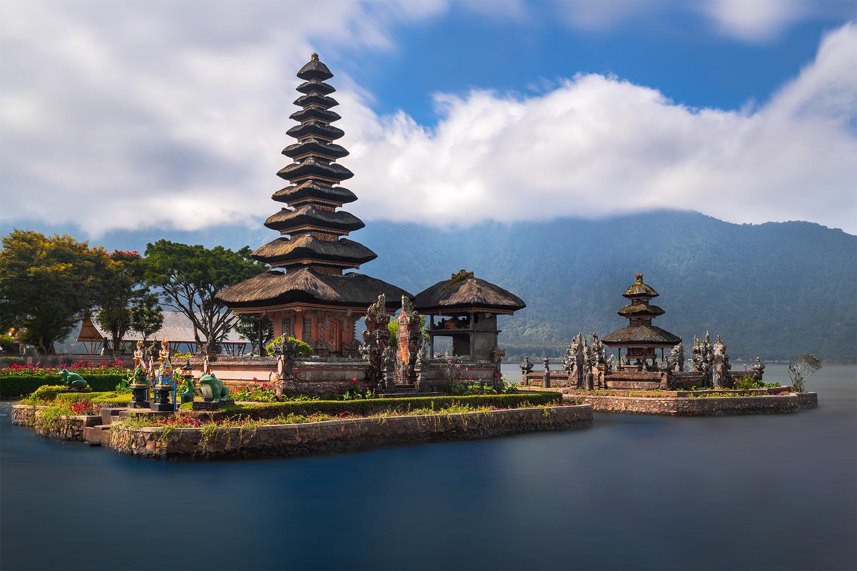 Ulun Danu Beratan Temple by Anton Galitch