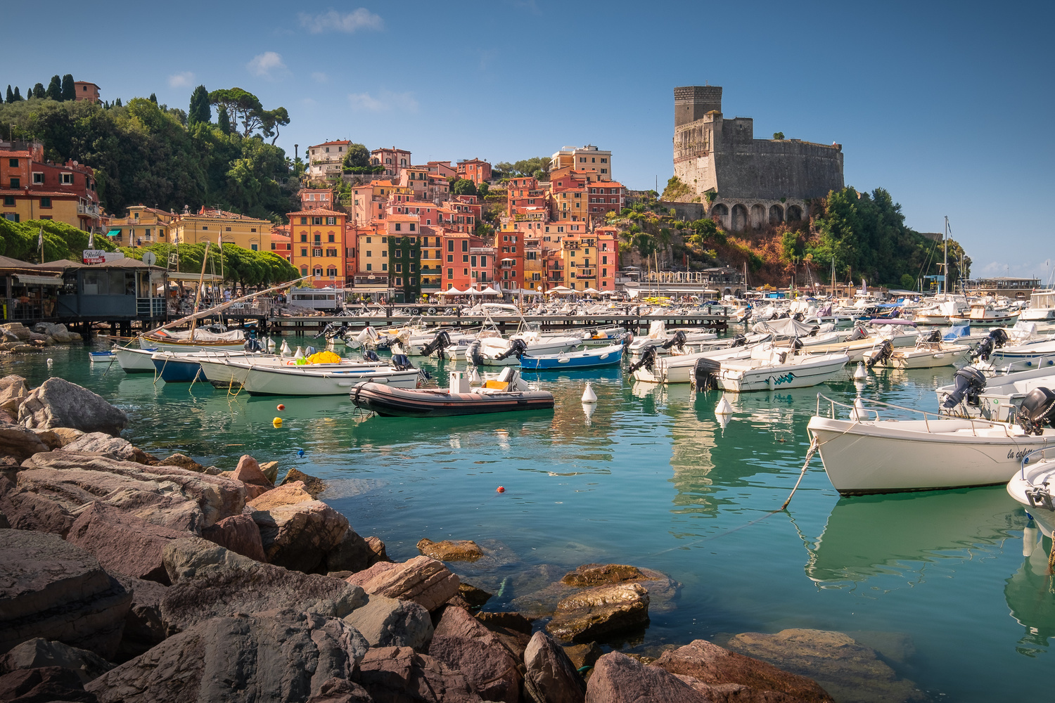 Lerici, Gulf of Poets by Anton Galitch