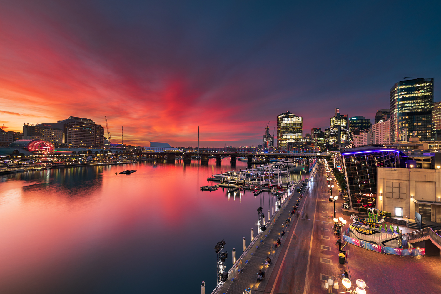 Darling Harbour by Anton Galitch