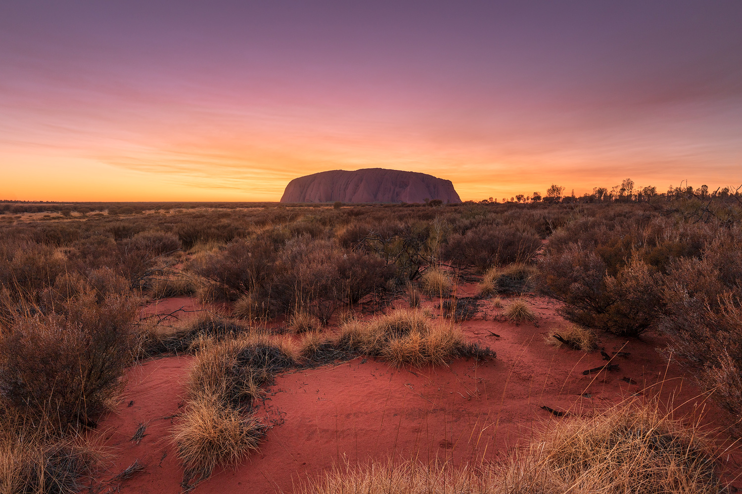 The Red Centre of Australia by Anton Galitch