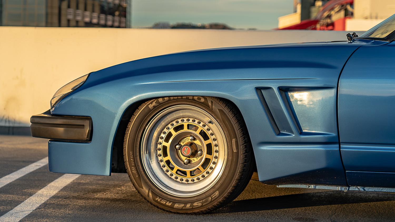 Gotti Wheels on 280ZX by Xander Cesari