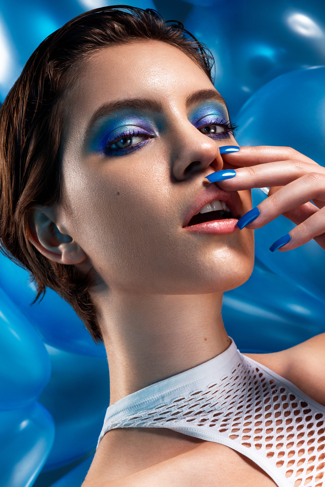 Blue up by Bruno Gentile
