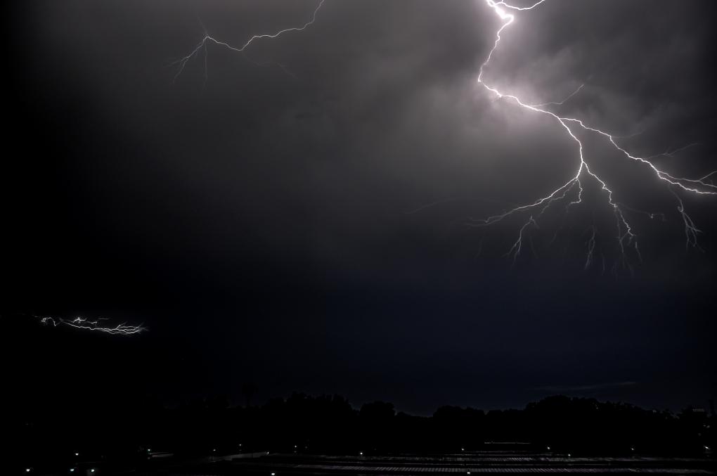 ThunderStorm by Almutaiz Jan