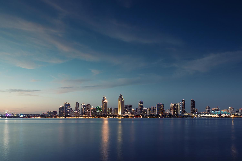 Blue San Diego by Joshua Krause
