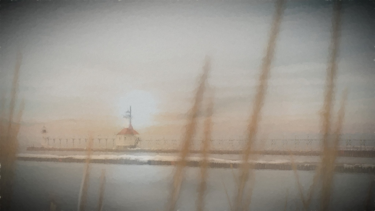 South Haven Lighthouse by Kathleen Horacek