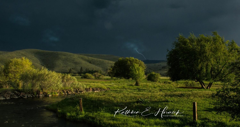 Storms rolling In by Kathleen Horacek
