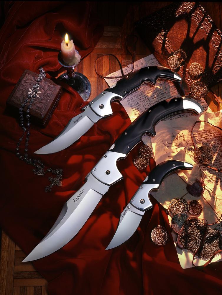 Three Folding Knives by Michael Barroca